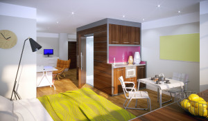 Lennon House Studio Apartment